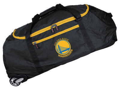 Golden State Warriors 36in Checked In Rolling Duffel V