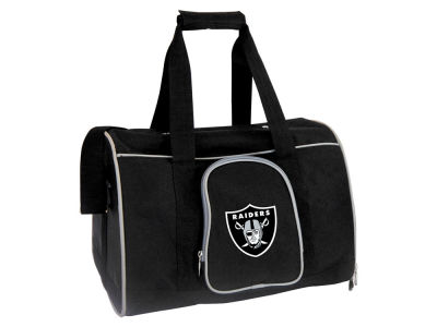 Oakland Raiders Pet Carrier Premium 16in Bag V