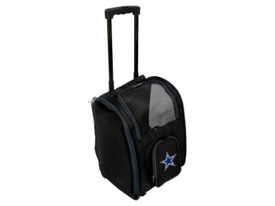 Dallas Cowboys Mojo Pet Carrier Premium Bag with Wheels