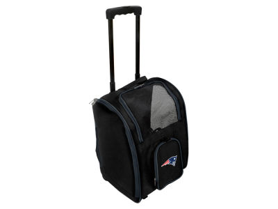 New England Patriots Mojo Pet Carrier Premium Bag with Wheels