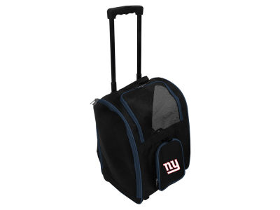 New York Giants Pet Carrier Premium Bag with Wheels V