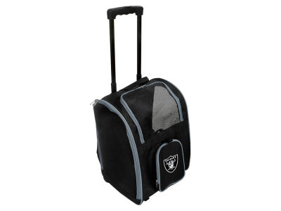 Oakland Raiders Pet Carrier Premium Bag with Wheels V