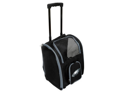 Philadelphia Eagles Mojo Pet Carrier Premium Bag with Wheels