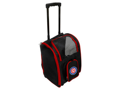 Chicago Cubs Mojo Pet Carrier Premium Bag with Wheels