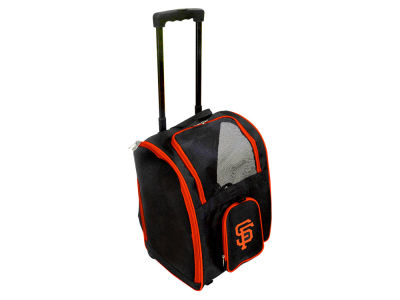 San Francisco Giants Mojo Pet Carrier Premium Bag with Wheels