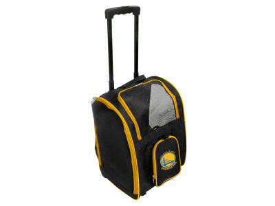 Golden State Warriors Pet Carrier Premium Bag with Wheels V