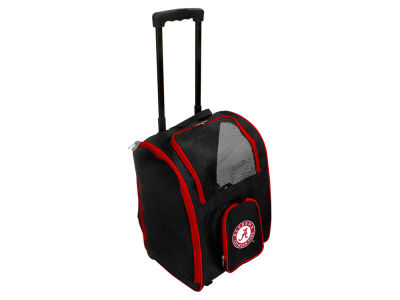 Alabama Crimson Tide Mojo Pet Carrier Premium Bag with Wheels