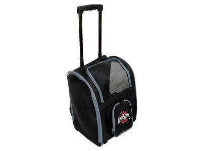 Ohio State Buckeyes Mojo Pet Carrier Premium Bag with Wheels