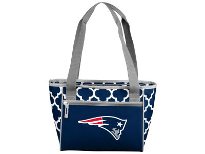 New England Patriots 16 Can Cooler Tote V