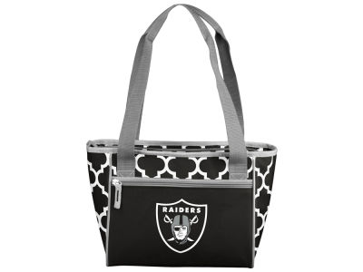 Oakland Raiders 16 Can Cooler Tote V