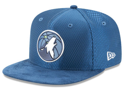 Minnesota Timberwolves New Era NBA On-Court Original Fit 9FIFTY Snapback Cap