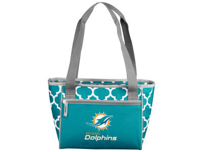 Miami Dolphins Logo Brands 16 Can Cooler Tote