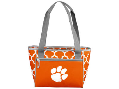 Clemson Tigers Logo Brands 16 Can Cooler Tote