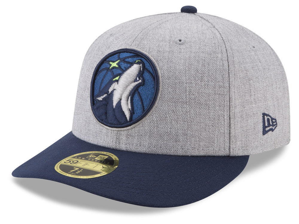 Minnesota Timberwolves New Era NBA Low Profile Current 59FIFTY Cap ... 0d64eb71f19