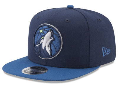 Minnesota Timberwolves New Era NBA Original Fit 2Tone 9FIFTY Snapback Cap