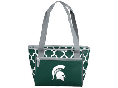 Michigan State Spartans 16 Can Cooler Tote V