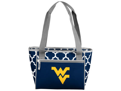 West Virginia Mountaineers Logo Brands 16 Can Cooler Tote