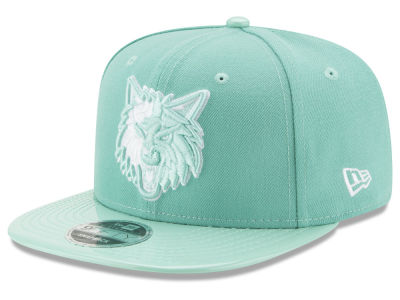 Minnesota Timberwolves New Era NBA Solid Shine 9FIFTY Snapback Cap