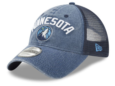Minnesota Timberwolves New Era NBA Rugged Trucker 9TWENTY Cap