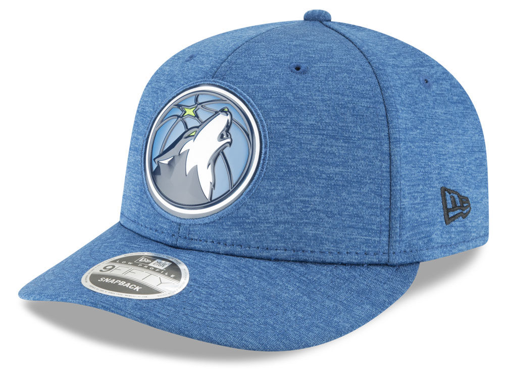 Minnesota Timberwolves New Era NBA Beveled Hit Team Low Profile 9FIFTY  Snapback Cap  c0990ea1485
