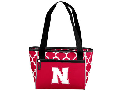 Nebraska Cornhuskers Logo Brands 16 Can Cooler Tote