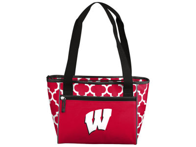 Wisconsin Badgers 16 Can Cooler Tote V