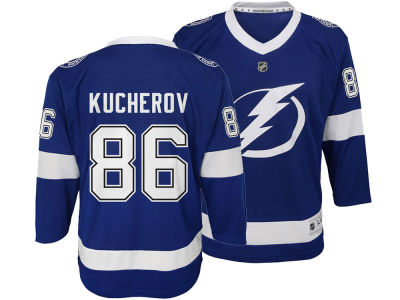 Tampa Bay Lightning Nikita Kucherov NHL Branded NHL Youth Player Replica Jersey
