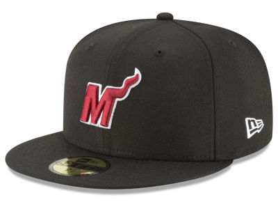 Miami Heat New Era NBA Alpha 59FIFTY Cap