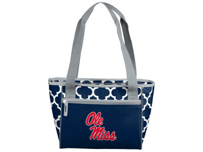 Ole Miss Rebels Logo Brands 16 Can Cooler Tote