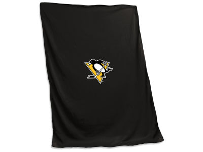 Pittsburgh Penguins Logo Brands Sweatshirt Blanket