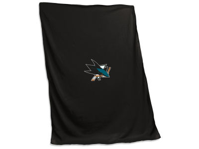 San Jose Sharks Sweatshirt Blanket V