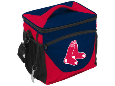 Boston Red Sox Logo Brands 24 Can Cooler