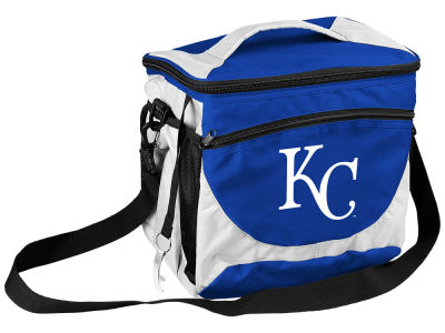 Kansas City Royals Logo Brands 24 Can Cooler