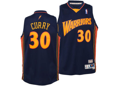 Golden State Warriors Stephen Curry Outerstuff NBA Youth Soul Swingman Jersey