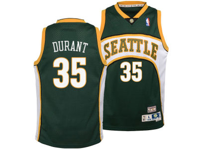 Seattle SuperSonics Kevin Durant Outerstuff NBA Youth Soul Swingman Jersey
