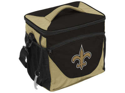 New Orleans Saints Logo Brands 24 Can Cooler