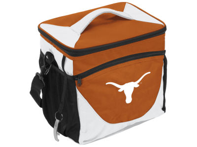 Texas Longhorns Logo Brands 24 Can Cooler