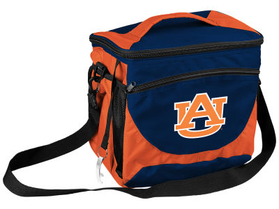 Auburn Tigers Logo Brands 24 Can Cooler