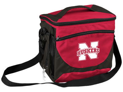 Nebraska Cornhuskers Logo Brands 24 Can Cooler