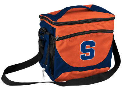 Syracuse Orange Logo Brands 24 Can Cooler