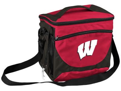 Wisconsin Badgers 24 Can Cooler V