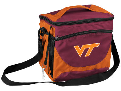 Virginia Tech Hokies Logo Brands 24 Can Cooler