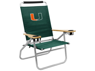 Miami Hurricanes Beach Chair V