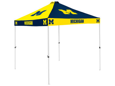 Michigan Wolverines Checkerboard Tent V