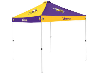 Minnesota Vikings Logo Brands Checkerboard Tent