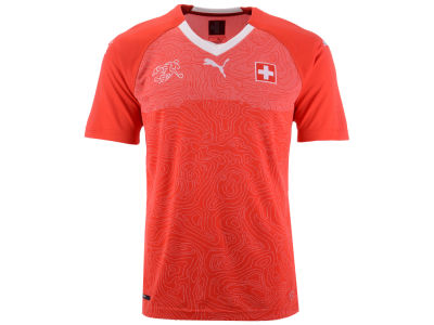 Switzerland Soccer Puma Men's National Team Home Jersey