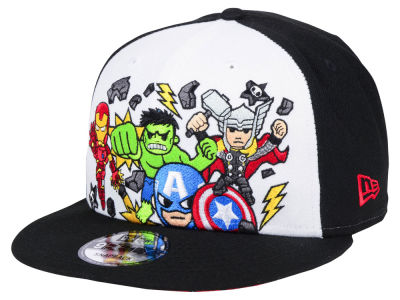 Marvel Reck It Heroes 9FIFTY Snapback Cap