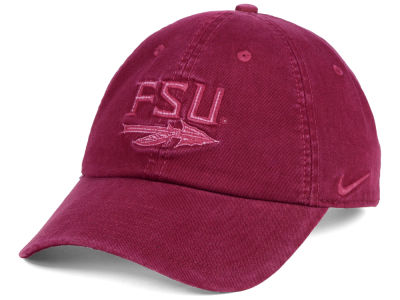 Florida State Seminoles Nike NCAA Pigment Dye Easy Adjustable Cap