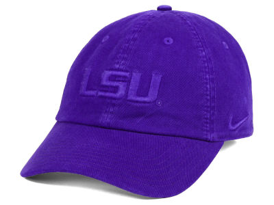 LSU Tigers Nike NCAA Pigment Dye Easy Adjustable Cap