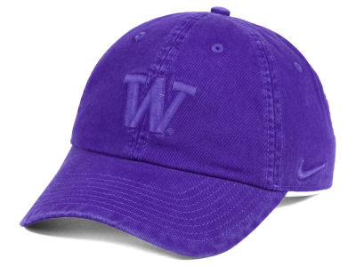 Washington Huskies Nike NCAA Pigment Dye Easy Adjustable Cap